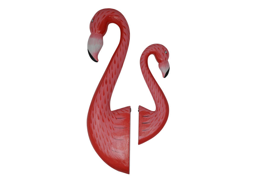 Flamingo Heads