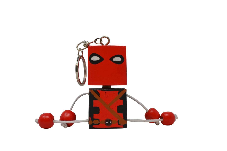 Super Hero Keyrings