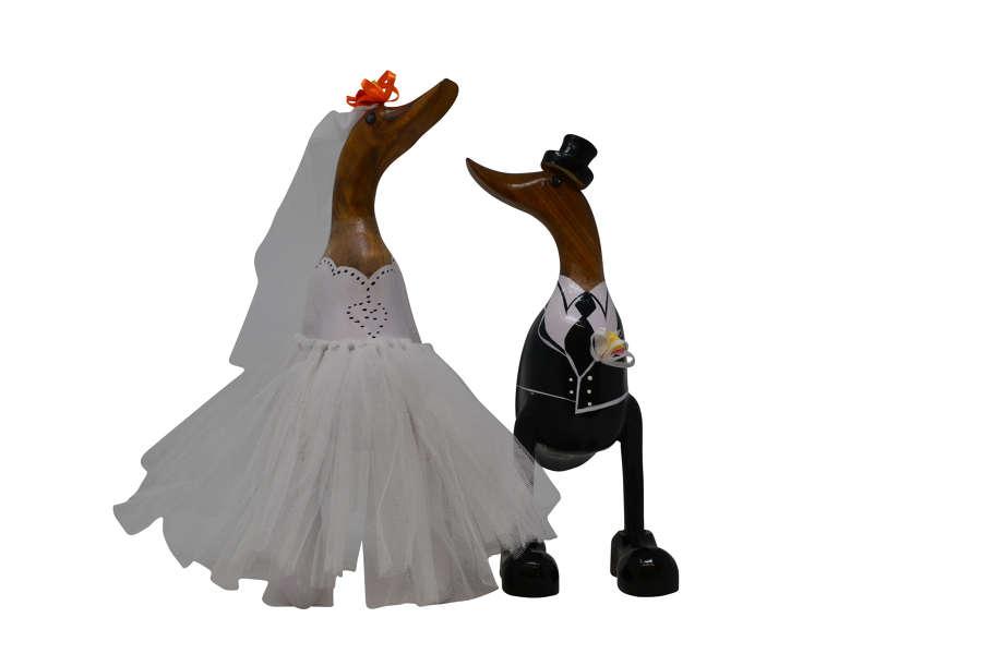 Bride and Groom Ducks