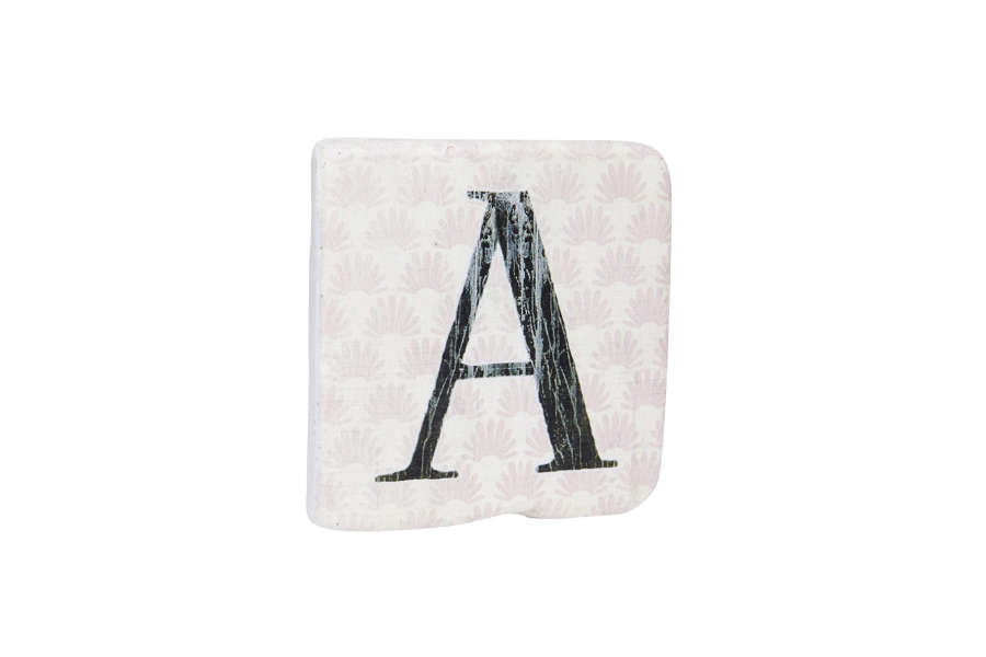 Resin Alphabet Coasters