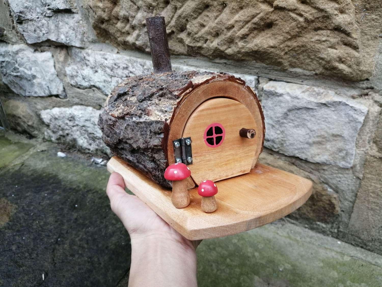 Fairy Log Houses