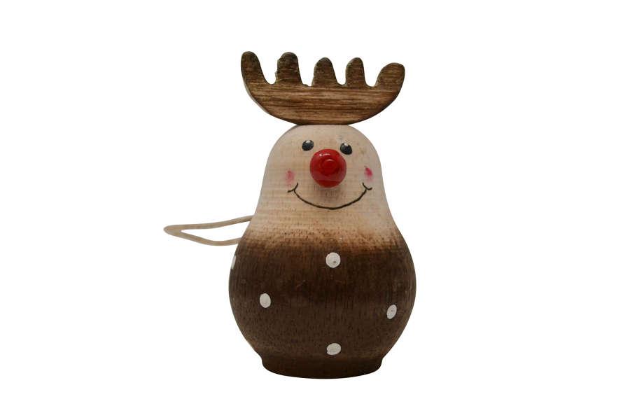 Pear Reindeer Xmas Dec